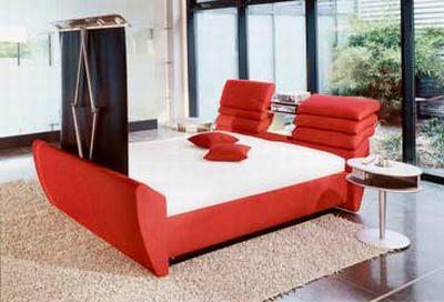 Tv In Bed : The jetson ottoman media king size tv bed finance available
